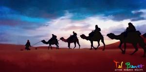 Lieutenant Adam Cooper's Camel Caravan