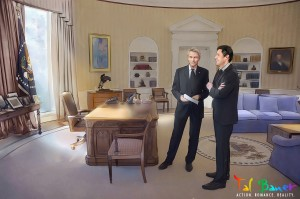 Jack & Ethan in the Oval Office
